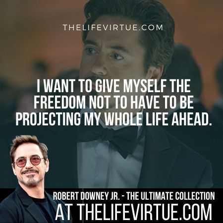 Robert Downey Jr. Quotes on Freedom