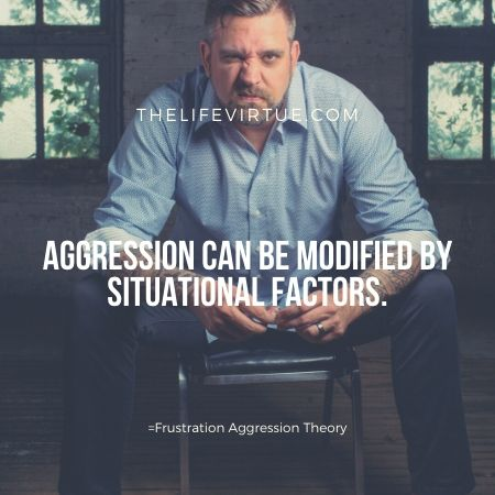Aggression is situational