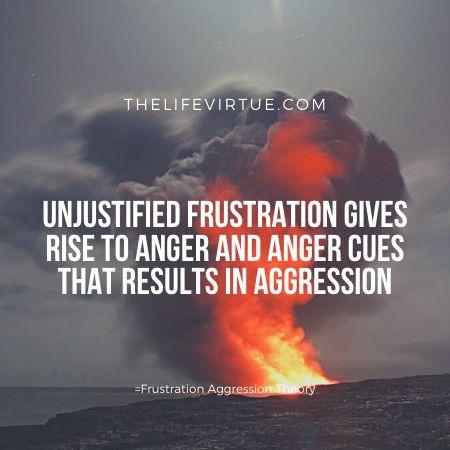 Unjustified frustration