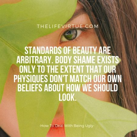 Beauty standards are arbitrary