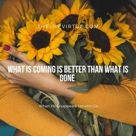 Better things are coming in love