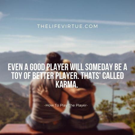 be his karma