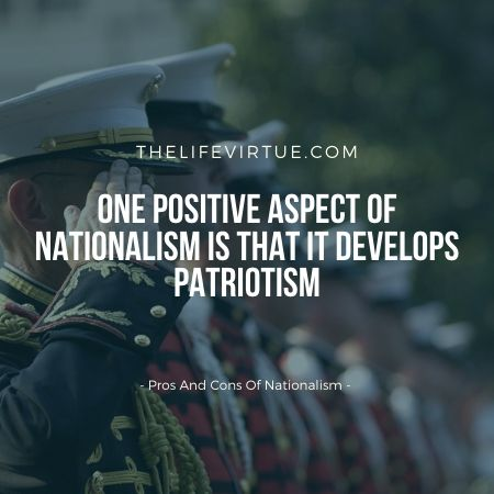 benefits and dis benefits of nationalism