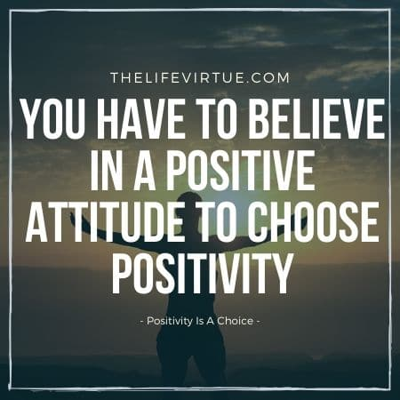 positivity is a choice