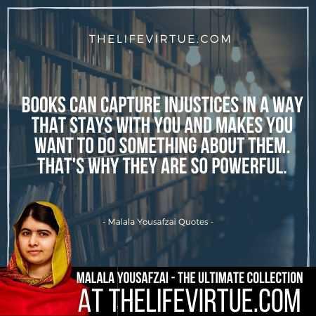 Malala Yousafzai Quotes on Books and Education