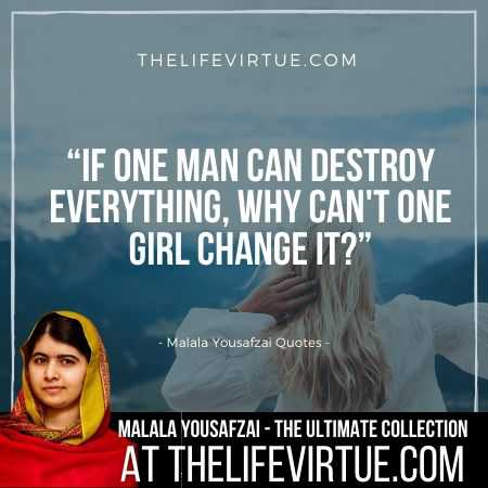 Malala Yousafzai Sayings  on Bravery