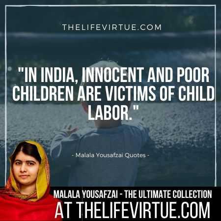 Malala Yousafzai Quotes on Children