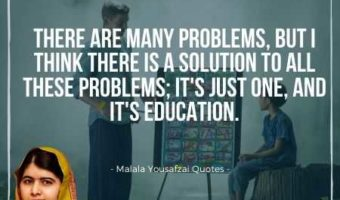 Malala Yousafzai Quotes on Importance of Education