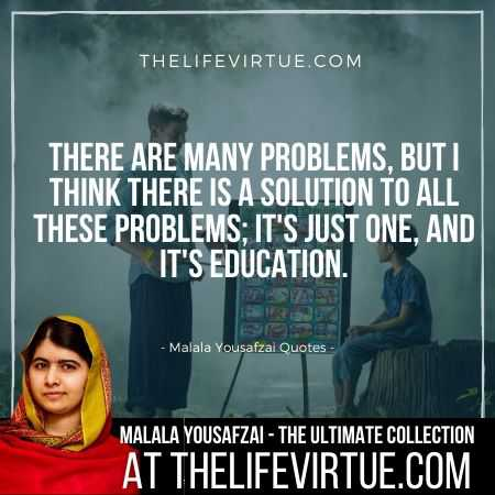 Malala Yousafzai Quotes on Importance of Education