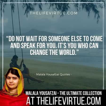 Malala Yousafzai Quotes on Responsibility