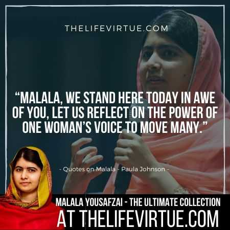 Quotes on Malala Yousafzai Speech - Malala Quotes