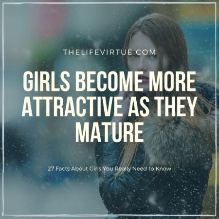Girls become Attractive - Facts about Girls