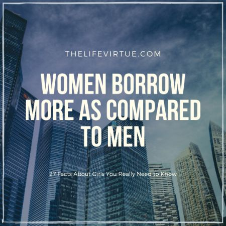 Women Borrow More - Money Facts about Women