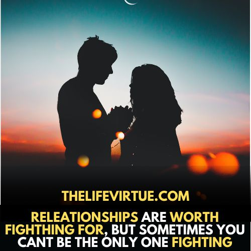 Fighting in a relationship is very common and happens to the best of us