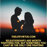 Fighting in a relationship is very common in Couples