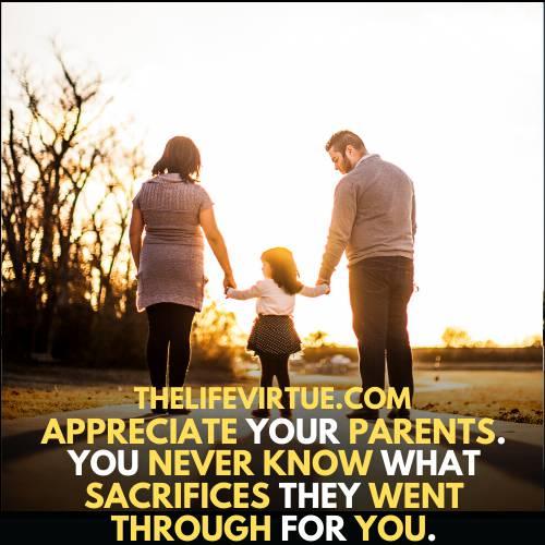 show gratitude and appreciation