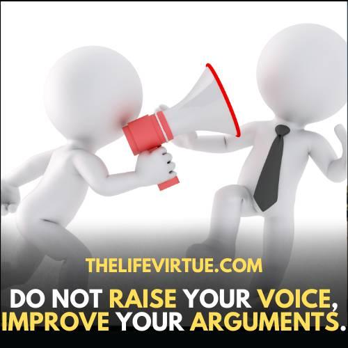 improve your arguments to convince your parents