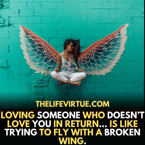 one-sided love quotes- love someone who does not love you