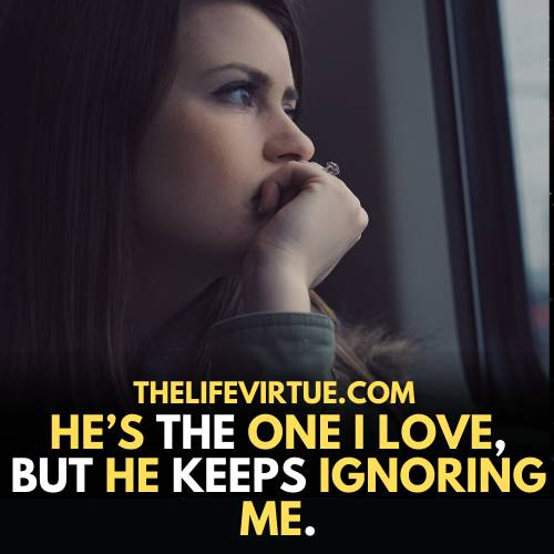 one-sided love quotes- my one-sided love ignores me