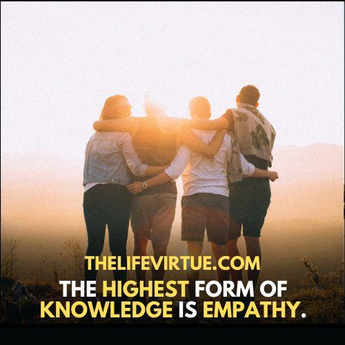 Radical Empathy is a virtue