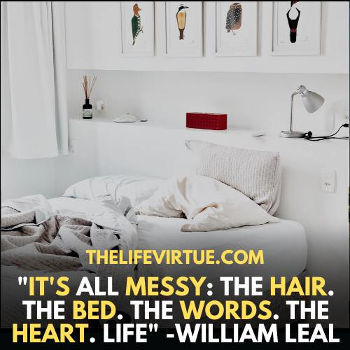 My Life is a mess - it is all messy in my life