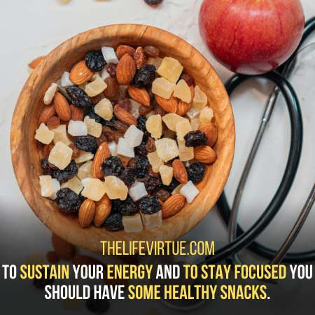 Healthy Snacks come in Handy - How to study for Long Hours with Concentration