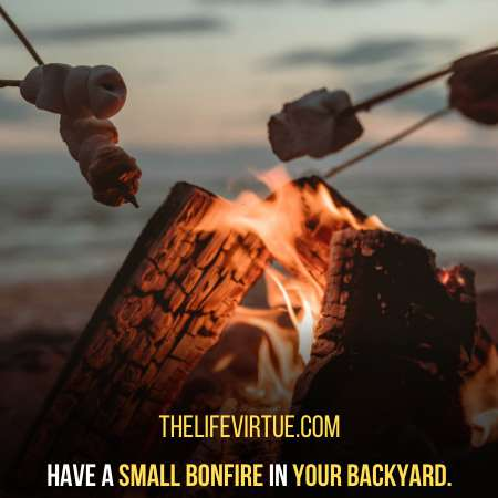 Have a Fun Bonfire in Your Backyard