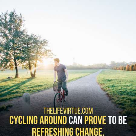 Cycling is One of the Interesting Things to do