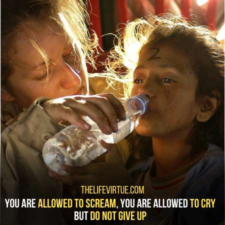 Tell Them It's Okay To Cry