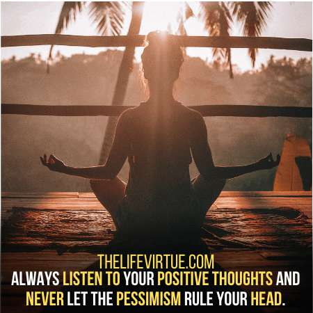 Focus on positive vibes, ignore the negative ones.