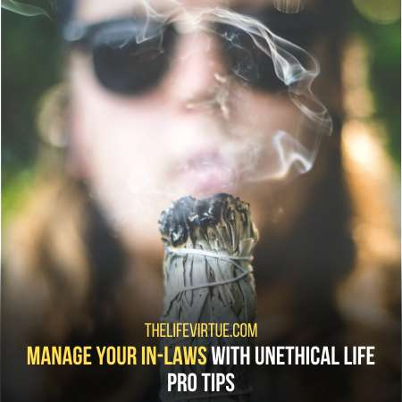 How to manage your in-laws effectively - unethical life pro tips