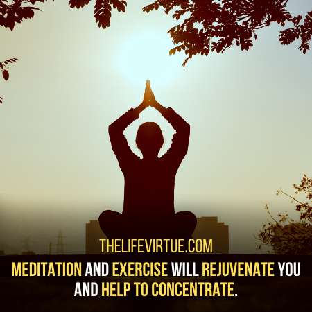 How to Study For Long Hours with concentration? Meditation can do Wonders