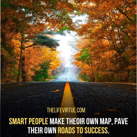 Smart people make their own map