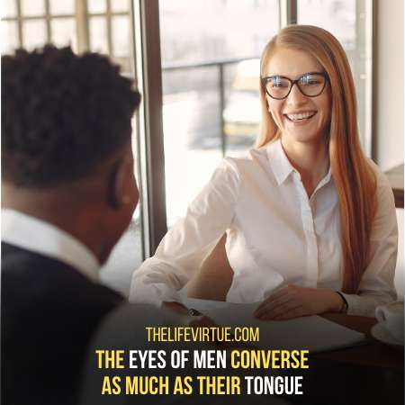 The eyes of men - Signs a guy  never had a girlfriend