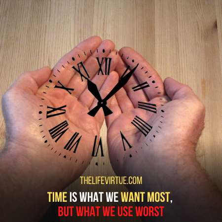 Time is what