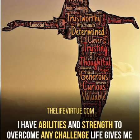Positive Self-Affirmations For Anxiety - I've abilities to overcome all obstacles