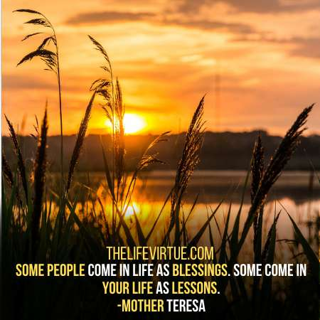 Lessons and Blessings in people