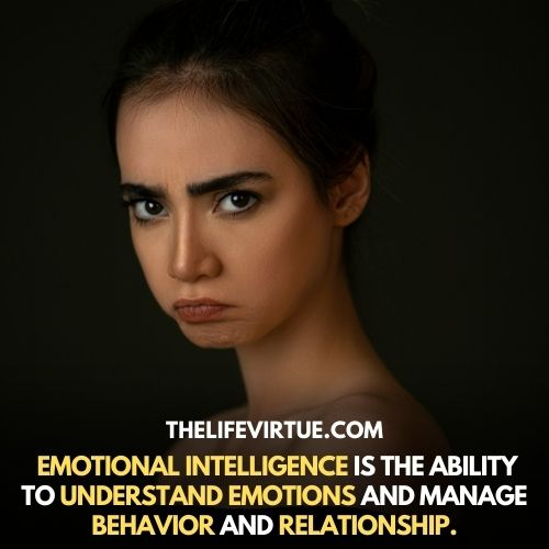 Emotional intelligence is way to understand emotions described images