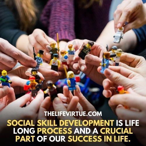 Social skill Improves Emotional Intelligence described image