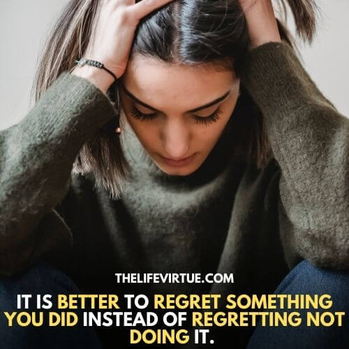 How to deal with regret, by leaving your action behind and creates its improved version