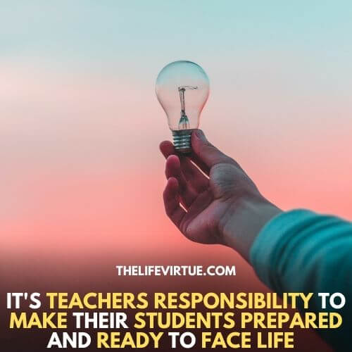 How to respect a teacher, by following all their rules designed to make you productive.