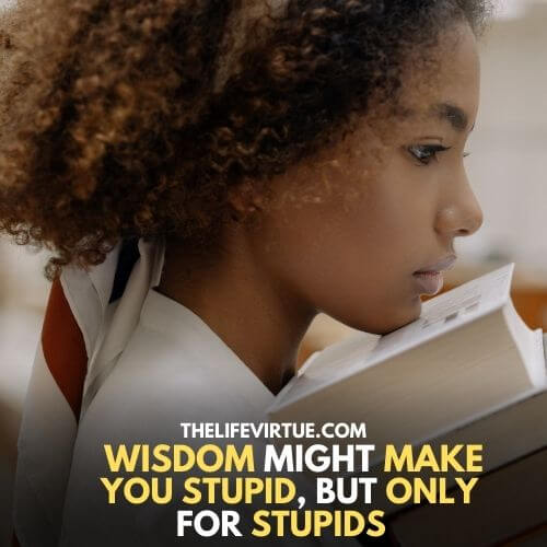 Symptoms of Stupidity when you are bullying Intelligence