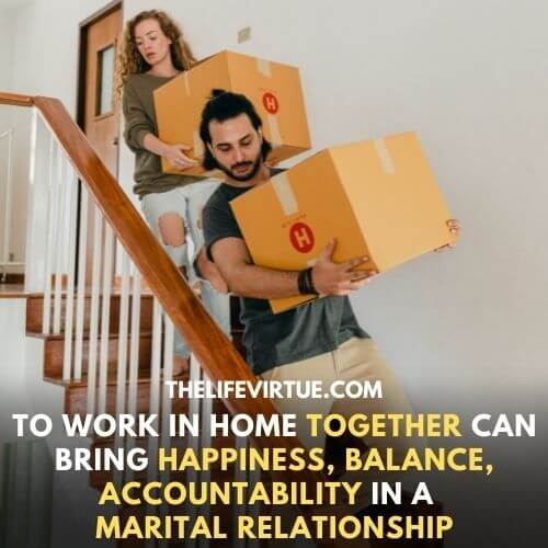 Doing Work in home together is the best thing to engage your  boring husband