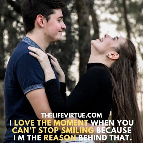 Make you smile completes me and this is the best funny thing i can do for you.