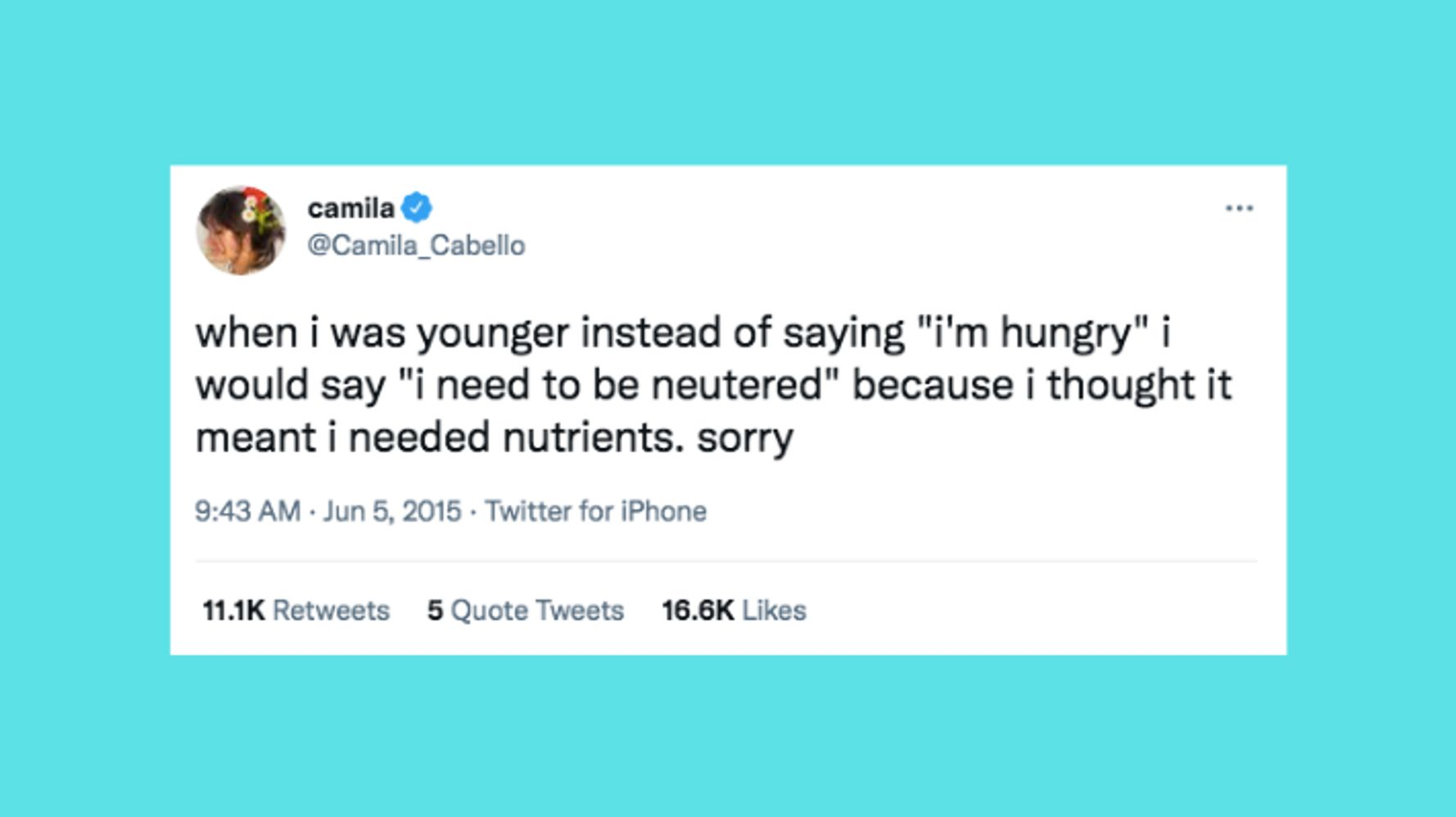 Funny things to tweet