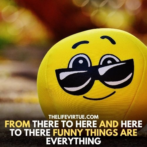 A smile emoji is shown in the image describe there are a lot funny things to do for a talent show