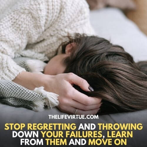 how to deal with regret when someone dies - learn to move on
