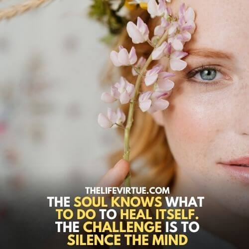 how to heal your soul- learn to heal it first