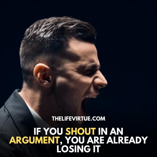 how to shut someone up
